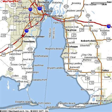map mobile mobile bay alabama