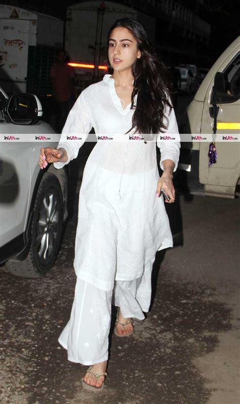 actress of kedarnath sara ali khan spotted