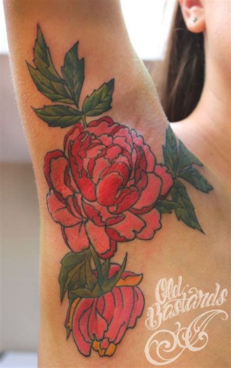 watercolor tattoo peony watercolor tattoos peony ideas flawssy