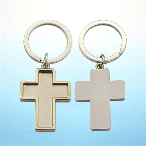 keychain design maker key chain maker custom metal cross keychain bulk metal