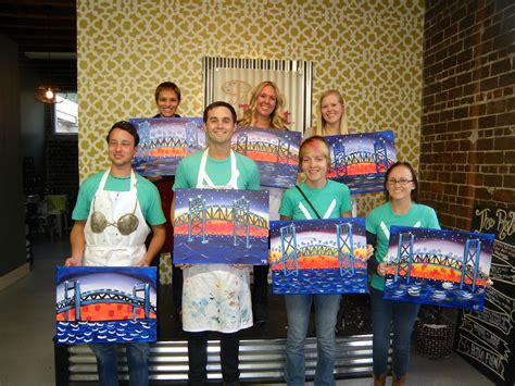 paint with a twist jax fl event painting with a twist in san marco live for