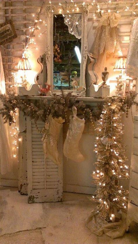 impressive vintage white christmas decorating ideas