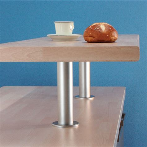 raised breakfast bar support for solid tops made out of