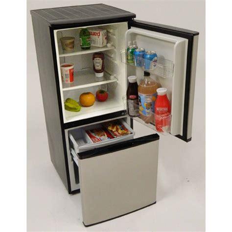 Kitchen Cabinet Mfg by Avanti 4 5 Cuft Stainless Steel 2 Door Bottom Freezer