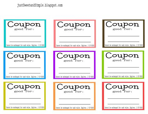 coupon maker template coupon word template mega deals and coupons