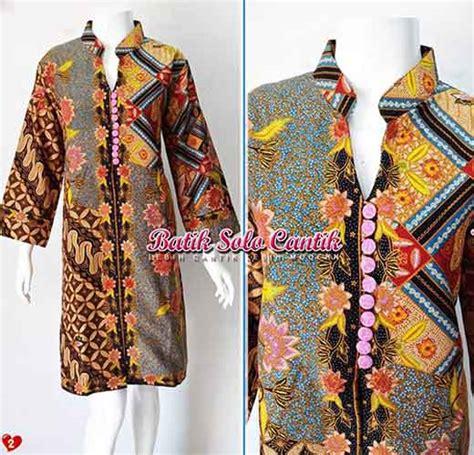 Kain Batik Cap Bahan Dobby baju muslim batik baju kerja batik