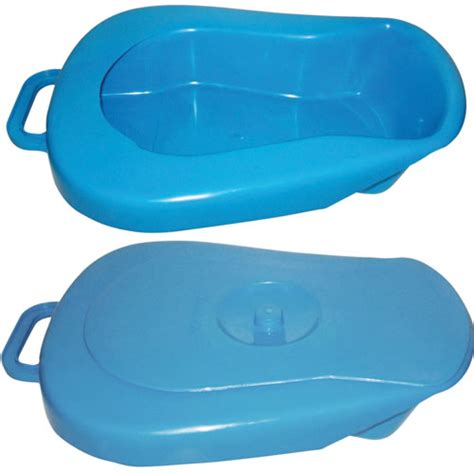 bed pans economy bed pan with lid urinals bed pans complete care shop