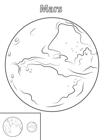 what gives mars its color mars planet coloring page free printable coloring pages