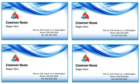 blank business card template business card template free