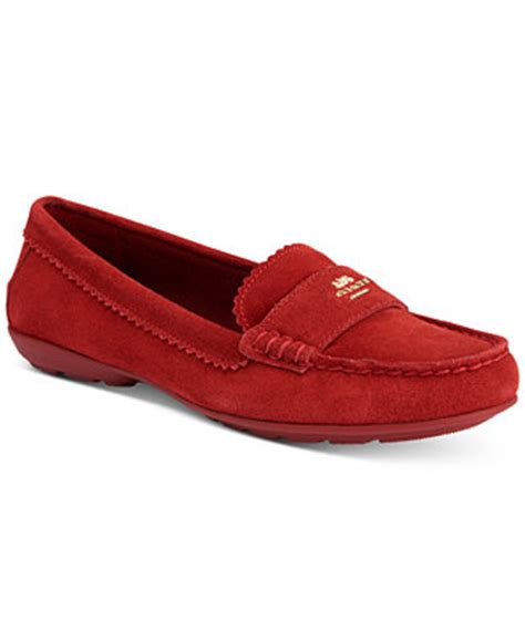 macys loafers coach odette casual loafers flats shoes macy s
