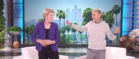 Elizabeth Warren Dances into Election Day on 'Ellen'