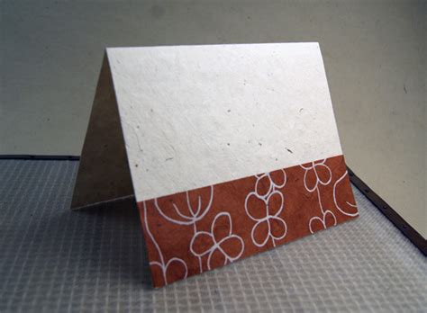 Paper Cards - lotka cards with decorative strips