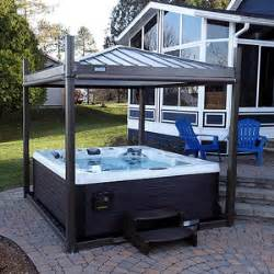 Backyard Spa Cover by Tub Covana Iii Gazebo And Cover Open Available Now