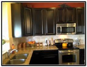 Diy Kitchen Backsplash Espresso Kitchen Cabinets With Backsplash Home Design Ideas