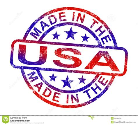 in usa made in usa st shows american products or produce stock
