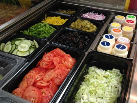 vegetables at subway fresh veggies at your fingertips picture of subway