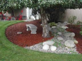 Free Rocks For Garden Outdoor Gardening Grass Bark Backyard Landscape Ideas For Small Yards