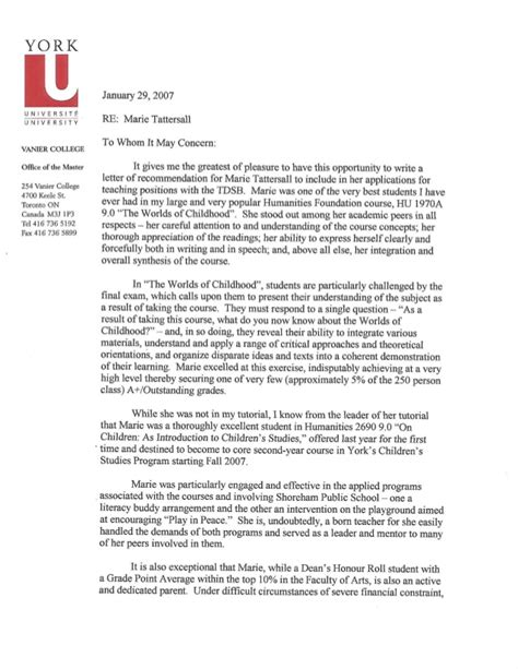 Reference Letter Phd Reference Letter Carole Carpenter Phd Page 1