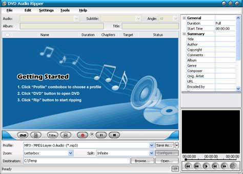 Dvd Audio Sounds Effect Production dvd audio ripper a dvd soundtrack ripper extract soundtracks from dvds to mp3 or wav