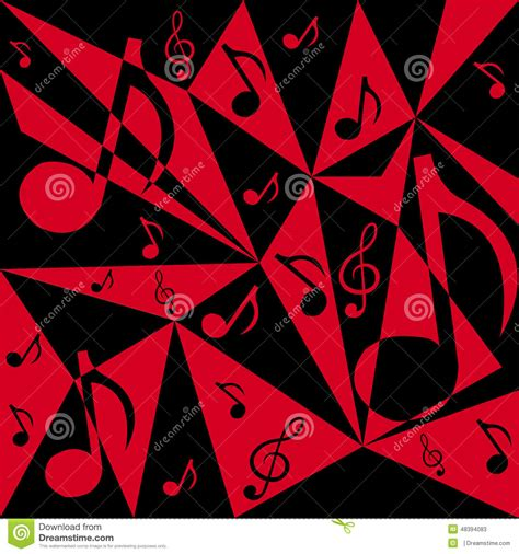 dark color musical notes vector vector abstract background with music notes stock vector