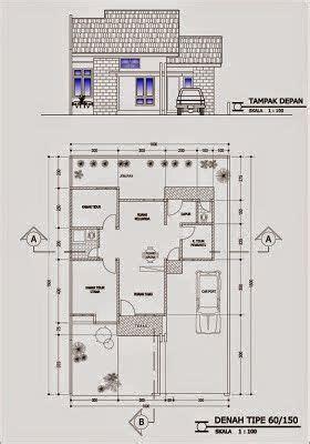 denah rumah minimalis type  mimari planlar   bungalow house design small house