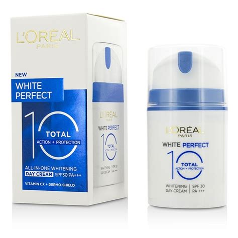 Whitening Day With Spf 30 And l oreal new zealand white total 10 whitening day spf 30 ok by l oreal fresh