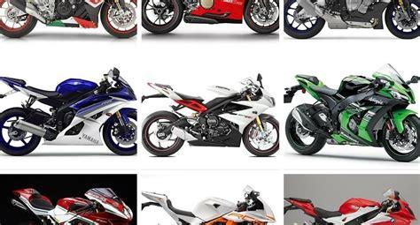 Motorrad Test 1000er Supersportler by 1000er Und 600er Supersportler Vergleich 2015 Modellnews