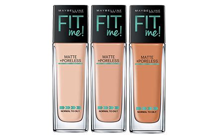 Maybelline Fit Me Liquid Foundation maybelline fit me matte poreless liquid foundation