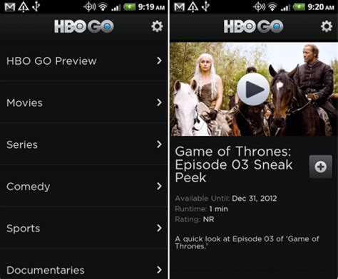 hbo go android tv how to tv on android phone or tablet