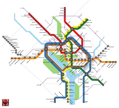 map of dc metro wmata map rubanko