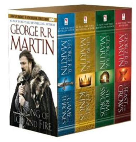 the songbird books a of thrones 4 book boxed set a song of and
