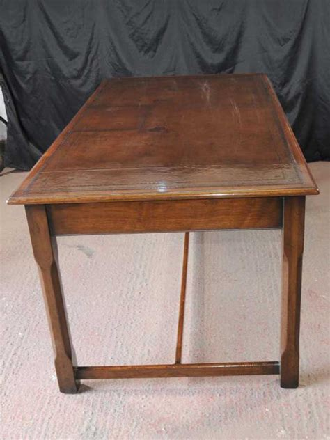 leather top writing desk walnut regency writing desk leather top