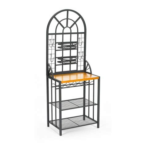 Bakers Rack Home Depot by Home Decorators Collection Dome Steel 26 In W Baker S