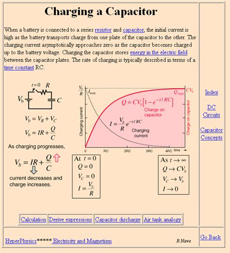 capacitor charge exponentially filter formulas for specific capacitance measures electrical engineering stack exchange