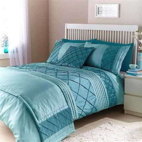 teal bed in a bag cairo duck egg teal double duvet quilt bedding bed in a