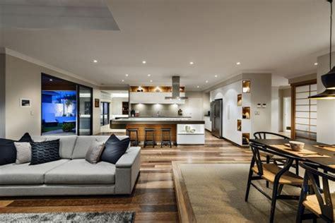 beleuchtung wohn essbereich offene k 252 che mit wohnzimmer pro contra und 50 ideen