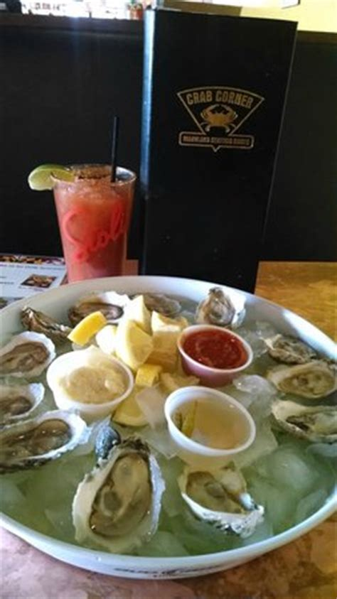 corner crab house happy hour oysters and bloody mary picture of crab corner maryland seafood house