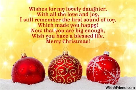 christmas messages  daughter