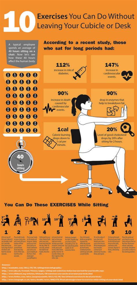 at your desk 10 simple exercises you can do at your desk to improve