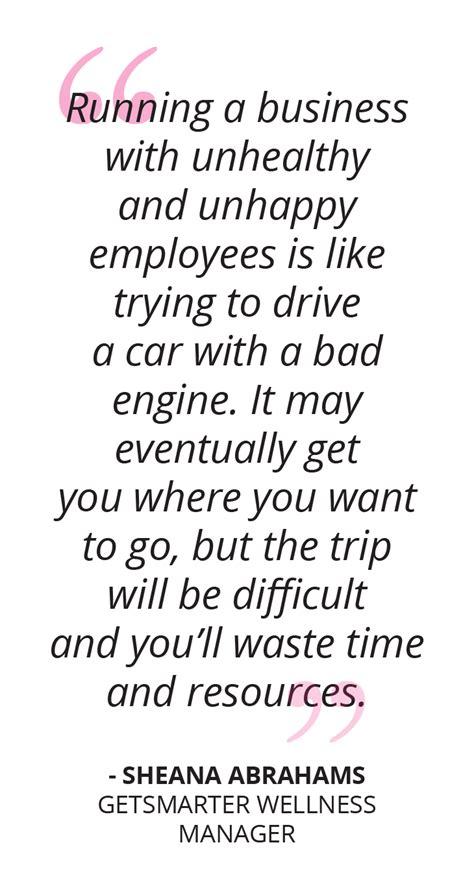 workplace health  wellness impacts business success getsmarter blog