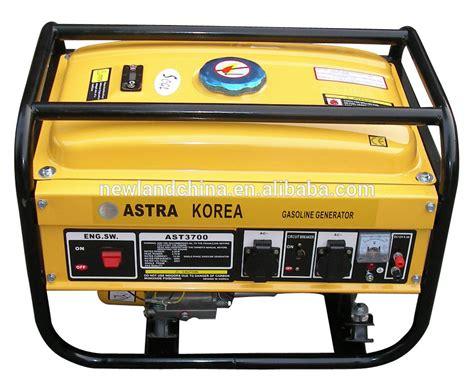 Gadoline Engine Generator Pro 2500 protable generator 2kw ast3700 astra korea gasoline