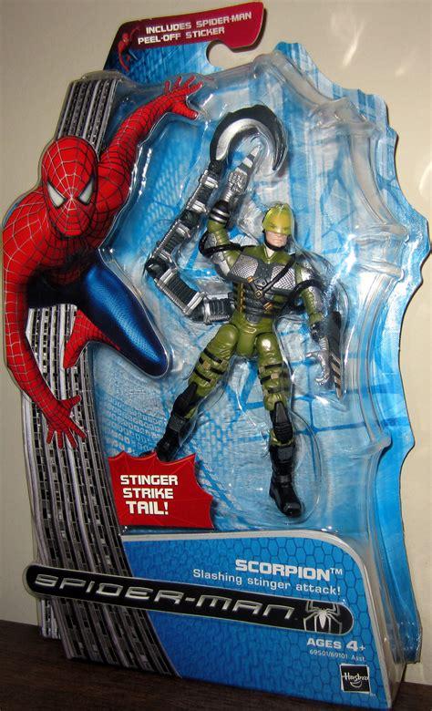 spider 3 figures scorpion figure spider 3 from
