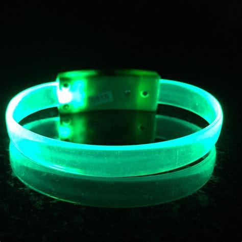 led band light waves led wristbands personalized custom light