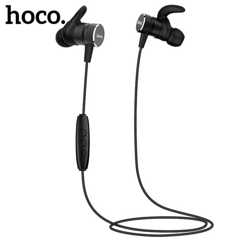 Hoco M19 Earphone With Mic hoco magnetic bluetooth earphones wireless headset with mic for iphone xiaomi samsung stereo in