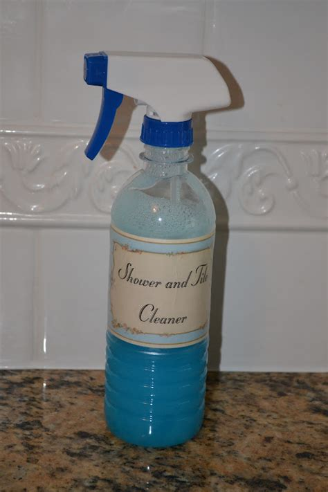 make your own bathroom cleaner closet crafter make your own shower and tile cleaner