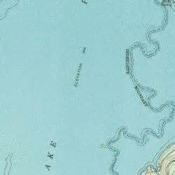lake palestine saline bay usgs topographic map by