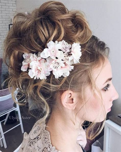 bridal hairstyles messy 35 wedding updo hairstyles for long hair from ulyana aster