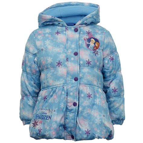 Dress Winter Elsa Frozen With Coat disney frozen jacket coat elsa padded