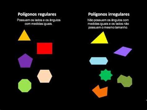figuras geometricas regulares pol 237 gonos matem 225 tica geometria youtube