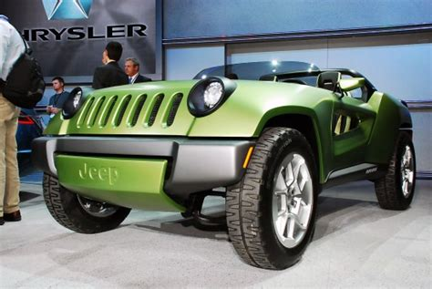 Jeep Renegade Convertible Jeep Renegade Concept Detroit 2008 Picture 47643